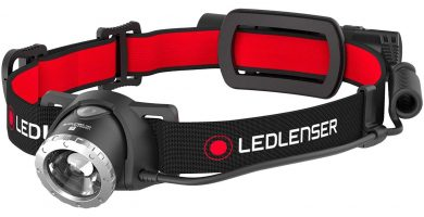 mejor frontal trail running led lenser h8r