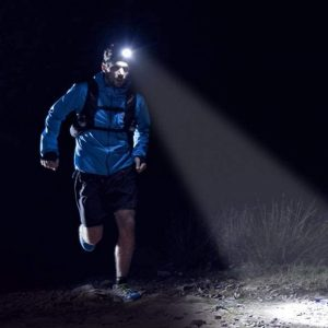 frontal para trail running