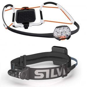 comparatica Petzl Iko Core vs Silva Trail Runner Free H